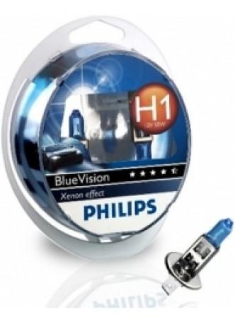 Галогеновая лампа Phillips Н1 12V 55W Три спектра 12258NGDLS2