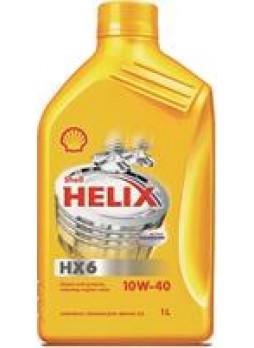 """Масло моторное минеральное """"Helix HX6 10W-40"""", 1л"""