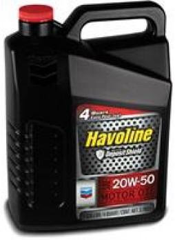 """Масло моторное полусинтетическое """"Havoline Motor Oil 20W-50"""", 3.785л"""