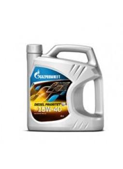 """Масло моторное минеральное """"Diesel Prioritet 15W-40"""", 4л"""