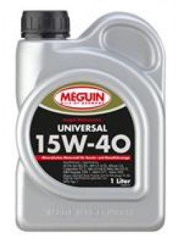"""Масло моторное минеральное """"Megol Motorenoel Universal 15W-40"""", 1л"""