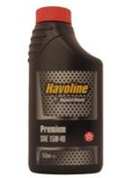 """Масло моторное минеральное """"Havoline Premium 15W-40"""", 1л"""