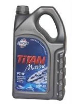 """Масло моторное полусинтетическое """"TITAN MARINE FC-W 10W-30"""", 5л"""