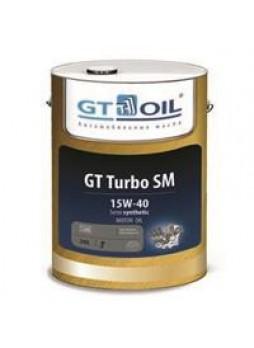"""Масло моторное полусинтетическое """"GT Turbo SM 15W-40"""", 20л"""