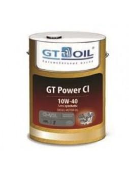 """Масло моторное полусинтетическое """"GT Power CI 10W-40"""", 20л"""