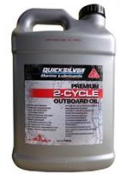 "Масло моторное минеральное ""Premium 2-Cycle Outboard Oil TC-W3"", 10л"