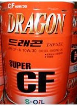 "Масло моторное полусинтетическое ""Dragon Super Diesel CF 10W-30"", 20л"