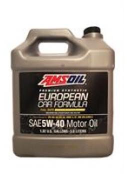 """Масло моторное синтетическое """"European Car Formula Full-SAPS Synthetic Motor Oil 5W-40"""", 5л"""