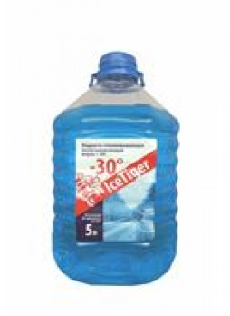 """Жидкость для омывателя стекла """"-30 (ПЭТ)"""", 5л"""