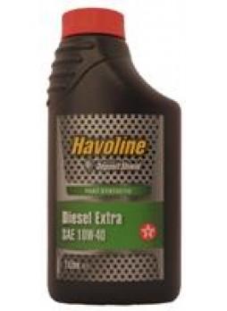 """Масло моторное полусинтетическое """"Havoline Diesel Extra 10W-40"""", 1л"""