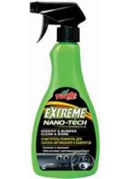 """Очиститель-полироль для салона автомобиля и бамперов """"Extreme Nano Tech COCKPIT & BUMPER CLEAN & SHINE"""", 0.5 л."""