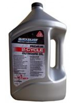 "Масло моторное минеральное ""Premium 2-Cycle Outboard Oil TC-W3"", 4л"