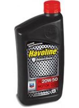"""Масло моторное полусинтетическое """"Havoline Motor Oil 20W-50"""", 0.946л"""