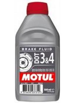"""Жидкость тормозная DOT 3/4, """"BRAKE FLUID"""", 0.5л"""