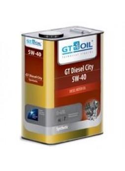 "Масло моторное синтетическое ""GT Diesel City 5W-40"", 4л"