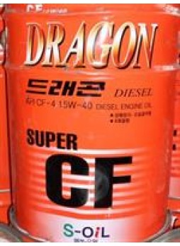 "Масло моторное полусинтетическое ""Dragon Super Diesel CF 15W-40"", 20л"