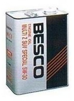 "Масло моторное полусинтетическое ""BESCO MULTI Z SUV SPECIAL 5W-30"", 4л"