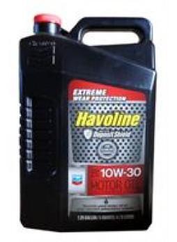"""Масло моторное полусинтетическое """"Havoline Motor Oil 10W-30"""", 4.73л"""