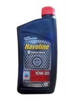 """Масло моторное полусинтетическое """"Havoline Motor Oil 10W-30"""", 0.946л"""