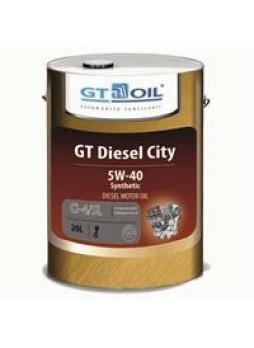 "Масло моторное синтетическое ""GT Diesel City 5W-40"", 20л"