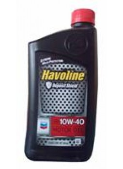 """Масло моторное полусинтетическое """"Havoline Motor Oil 10W-40"""", 0.946л"""