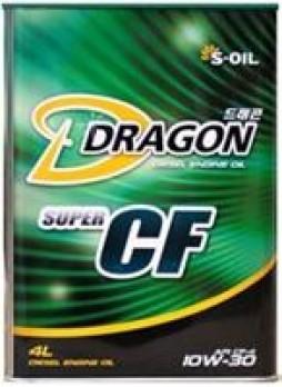 "Масло моторное полусинтетическое ""Dragon Super Diesel CF 10W-30"", 4л"