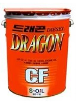 "Масло моторное полусинтетическое ""Dragon Super Diesel CF 5W-30"", 20л"