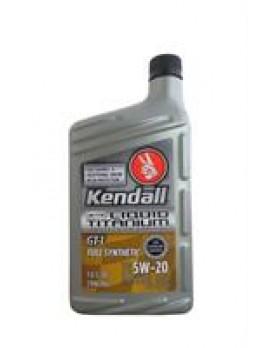 "Масло моторное синтетическое ""GT-1 Full Synthetic with Liquid Titanium 5W-20"", 0.946л"