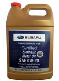 "Масло моторное синтетическое ""SYNTHETIC OIL 0W-20"", 3.78л"