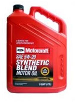 "Масло моторное полусинтетическое ""Premium Synthetic Blend Motor Oil 5W-20"", 5л"