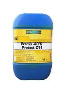"""Антифриз """"TTC Traditional Technology Coolant Premix"""", 10л"""