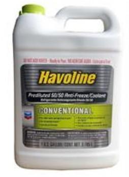 "Антифриз ""Havoline Conventional Prediluted 50/50 Antifreeze/Coolant"", 3,785л"