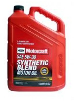 "Масло моторное полусинтетическое ""Synthetic Blend Motor Oil 5W-30"", 5л"