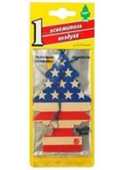 "Елочка ""Американский флаг"" ароматизатор подвесной"