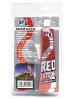 Герметик силиконовый высокотемпературный красный, 85мл