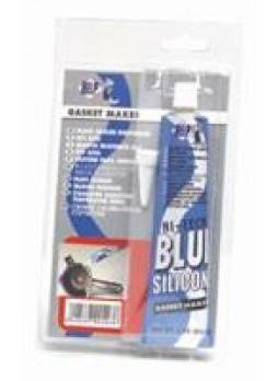 Герметик силиконовый высокотемпературный синий, 85мл