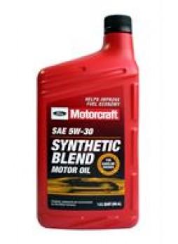 "Масло моторное полусинтетическое ""Synthetic Blend Motor Oil 5W-30"", 1л"