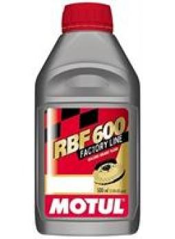 """Жидкость тормозная DOT 3; DOT 4; DOT 5.1, """"RBF 600 Factory Line"""", 0.5л"""