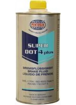 """Жидкость тормозная DOT 4 +, """"SUPER"""", 1л"""