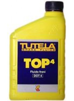 """Жидкость тормозная dot 4, """"Brake Fluid TOP"""", 1л"""