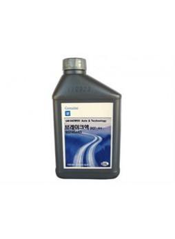 """Жидкость тормозная dot 4, """"Brake Fluid Plus"""", 0.5л"""