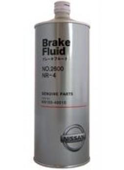 """Жидкость тормозная dot 4, """"Brake Fluid 2600"""", 1л"""