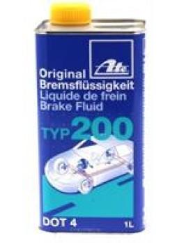 """Жидкость тормозная dot 4, """"Brake Fluid TYP 200"""", 1л"""