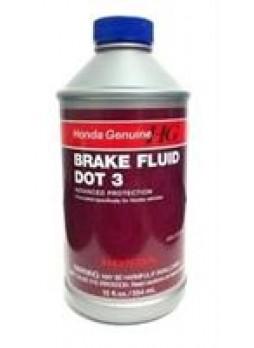 """Жидкость тормозная dot 3, """"BRAKE FLUID"""", 0.354л"""