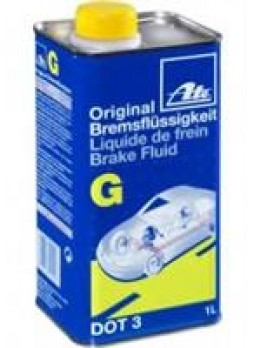 """Жидкость тормозная dot 3, """"Brake Fluid G"""", 1л"""