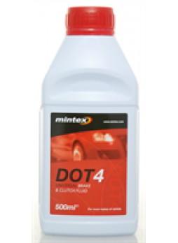 Жидкость тормозная dot 4, 0.5л