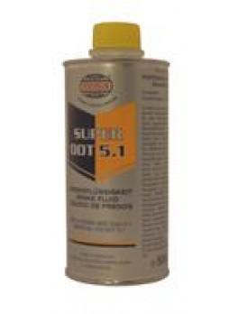 """Жидкость тормозная dot 5.1, """"SUPER"""", 0.5л"""