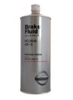"""Жидкость тормозная dot 3, """"Brake Fluid 2500"""", 1л"""