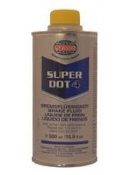 """Жидкость тормозная dot 4, """"SUPER"""", 0.5л"""