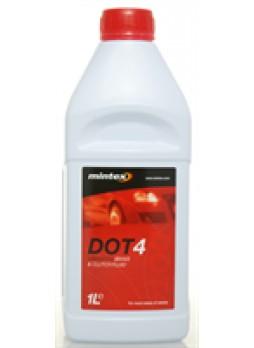 Жидкость тормозная dot 4, 1л